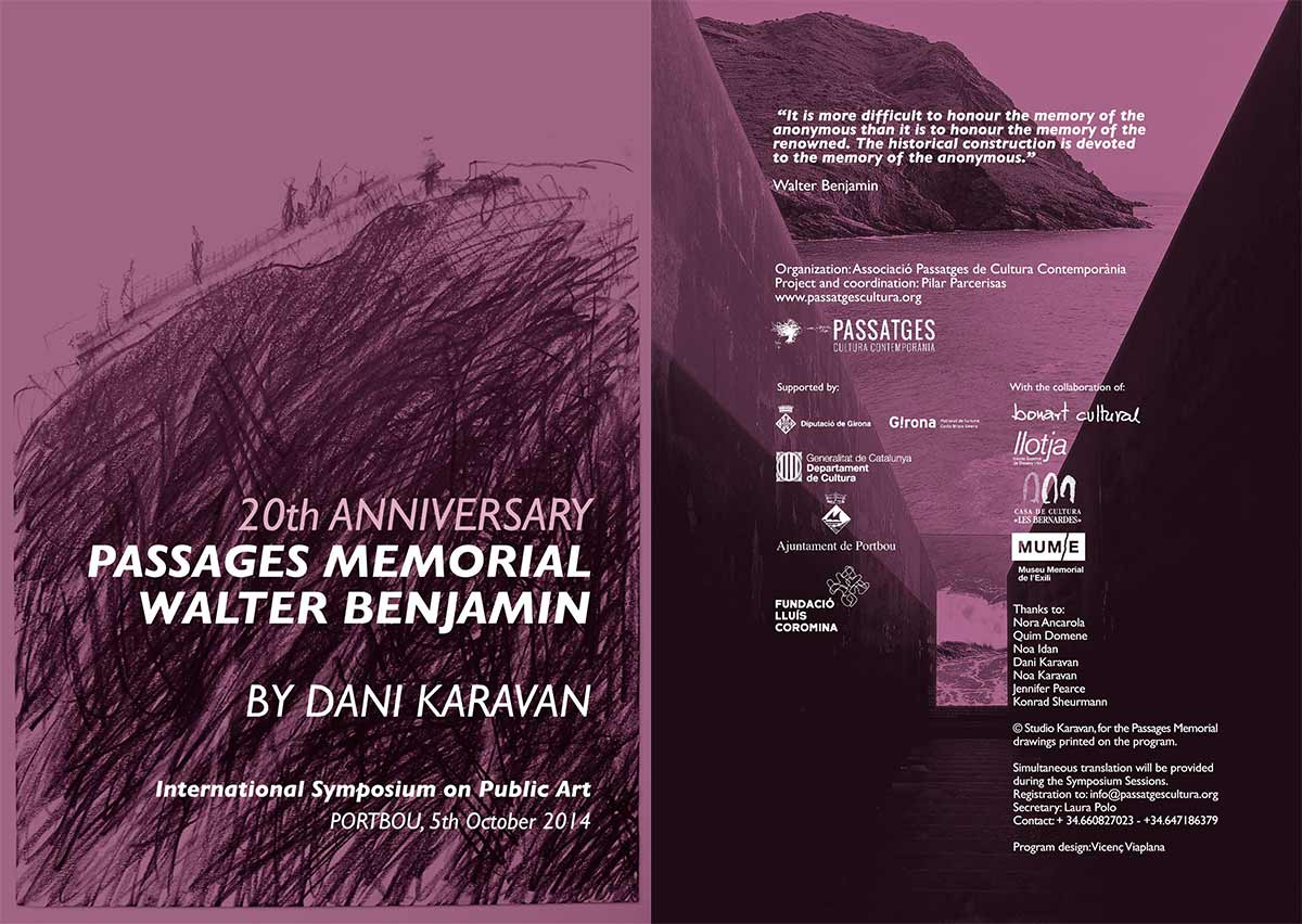 20th Anniversary of Memorial Passages