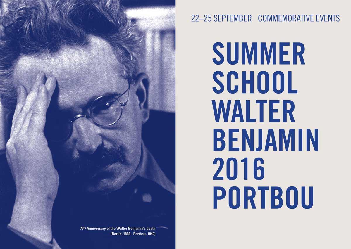 I Summer School Walter Benjamin and commemorative events