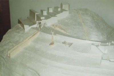 Maqueta del Memorial Passatges