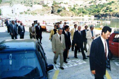 Visita del President de la República Federal d'Alemanya, Richard van Weizsäcker el 1992 01