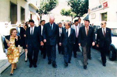Visita del President de la República Federal d'Alemanya, Richard van Weizsäcker el 1992 02
