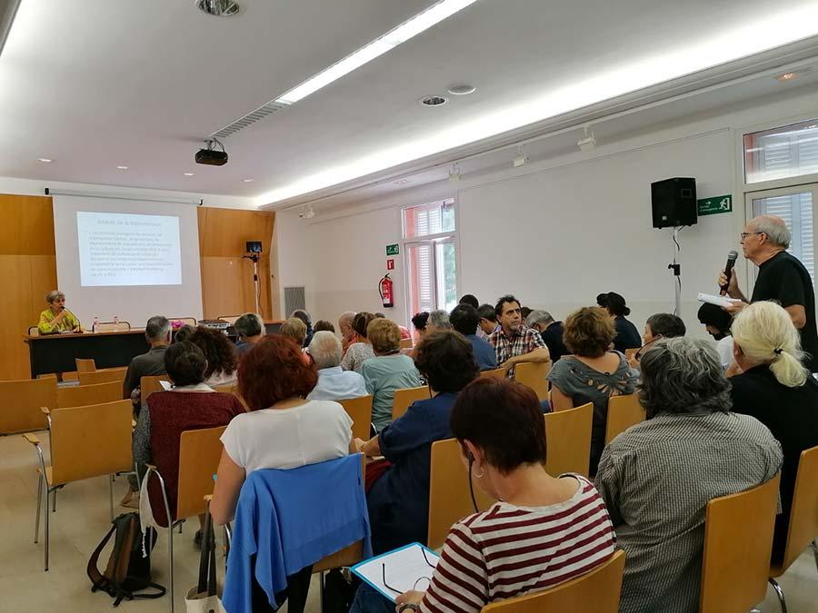 Conferència d'Anne Roche (Université de Marseille)