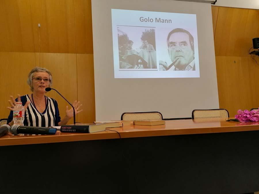 Conferència de Madeleine Claus sobre els intel·lectuals alemanys que creuaren per Portbou